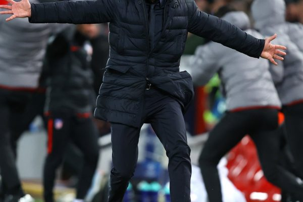 Diego Simeone has taken responsibility for Atletico Madrid's first defeat of the season, but also criticized the lack of focus on goal from set-pieces.